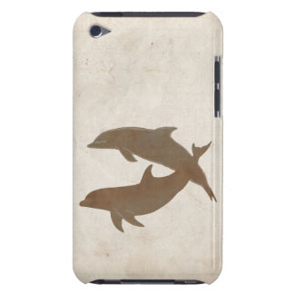 Rustic Dolphins Beach Wedding Barely There iPod Case