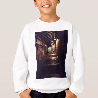 Rustic Door and Table - Portland, OR Sweatshirt