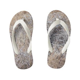 Rustic Dry Tumbleweed Kid's Thongs