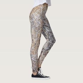 Rustic Dry Tumbleweed Leggings