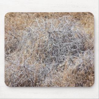 Rustic Dry Tumbleweed Mouse Pad