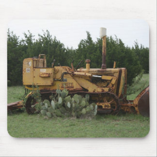 Rustic Farm Equipment Mouse Pad