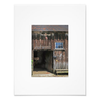 Rustic Fish Dock House Photo