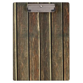rustic floor wood boards clipboard