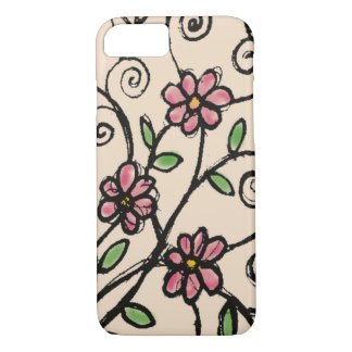 Rustic Floral Pattern iPhone 7 Case