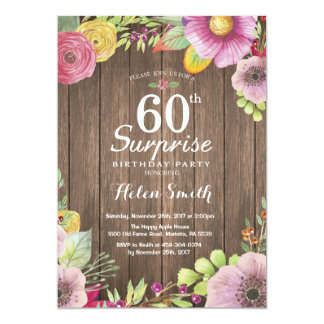 surprise 60th birthday invitations