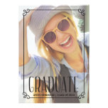 Rustic Frame | Photo Graduation Party Invite