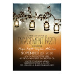 rustic garden lights - lanterns engagement party