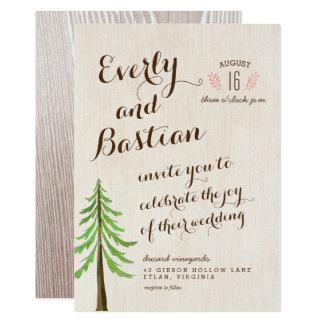 Rustic Glam Wedding Invitations