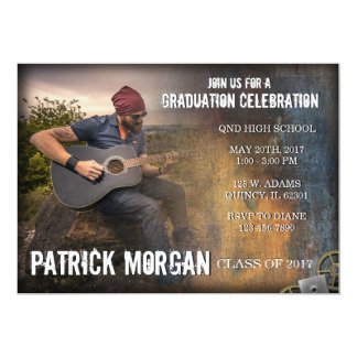Rustic Graduation Announcement