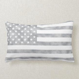 Rustic Gray American Flag Cushions