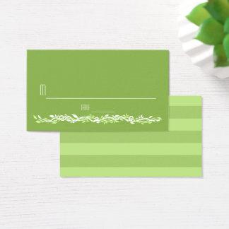 Rustic Greenery | Wedding Vine Place Card Escort