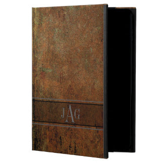 Rustic Grunge Brown Book Design Powis iPad Air 2 Case