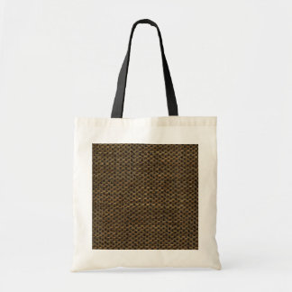 Rustic Grunge Burlap Texture Tote Bag