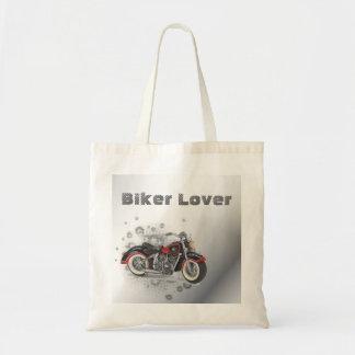 Rustic grunge Motorcyle Biker Wedding Budget Tote Bag