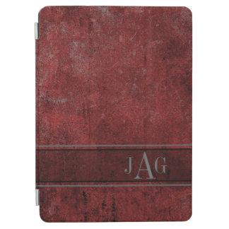 Rustic Grunge Red Book Design iPad Air Cover