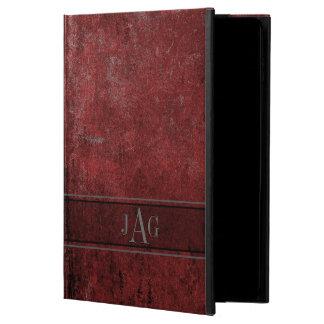 Rustic Grunge Red Book Design Powis iPad Air 2 Case
