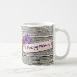 Rustic Happy Norooz Hyacinth - Mug