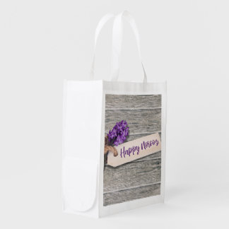 Rustic Happy Norooz Hyacinth - Reusable Bag