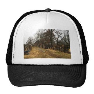 rustic trucker hat