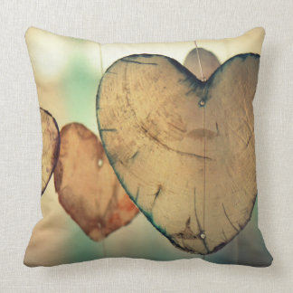 Rustic Heart Pillow