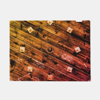 Rustic Industrial Wire Spool Doormat
