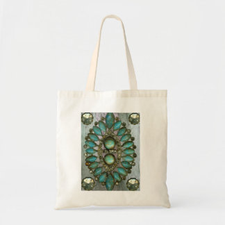 Rustic Jewels Bling Tote