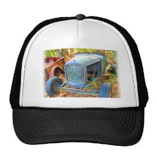 Rustic Junkyard Hot Rod Hats