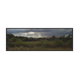 Rustic Landscape Canvas Print