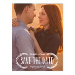 Rustic Laurel | Photo Save the Date
