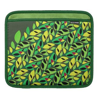 Rustic Leaf Vine Pattern iPad Sleeve