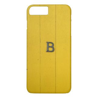 Rustic Letter B iPhone Case