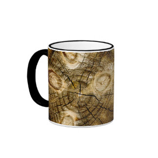 Rustic Log Roll Coffee Mug