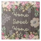 Rustic Look Home Sweet Home Floral Wood Ceramic Tile