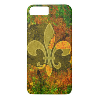 Rustic Louisiana Fleur-de-lis iPhone 7 Plus Case