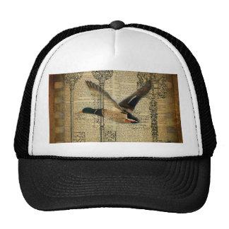 rustic mallard duck cap