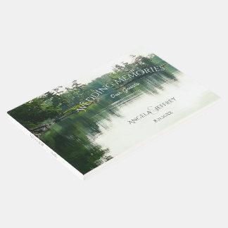 Rustic mountain lake wedding guests memories