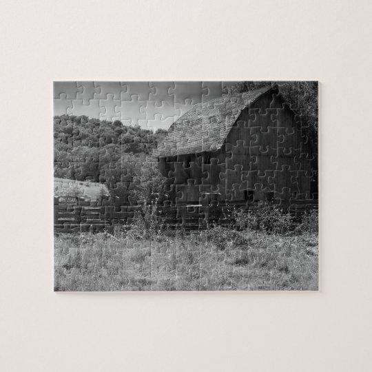 Rustic Mystic Barn Jigsaw Puzzle