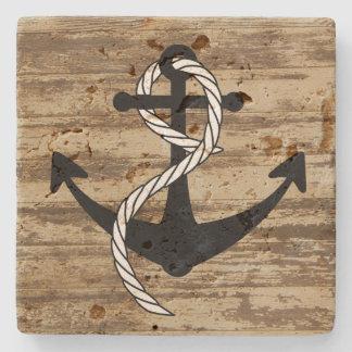 Rustic Nautical Anchor Coasters