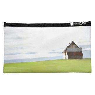Rustic Old Barn Cosmetic Bags