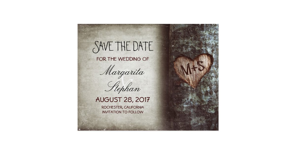 Save the date cards in Australia