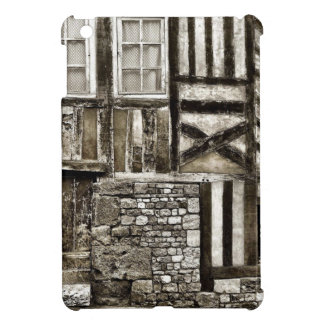 Rustic Old Wood and Stone Building iPad Mini Cover