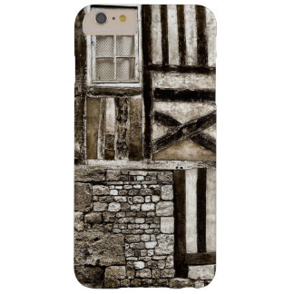 Rustic Old Wood and Stone House Barely There iPhone 6 Plus Case