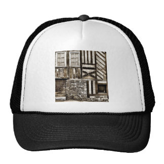 Rustic Old Wood and Stone House Cap