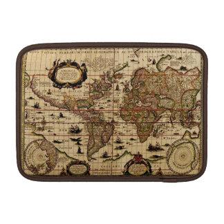 Rustic Old World Map Vintage Tablet Case Sleeve MacBook Sleeves