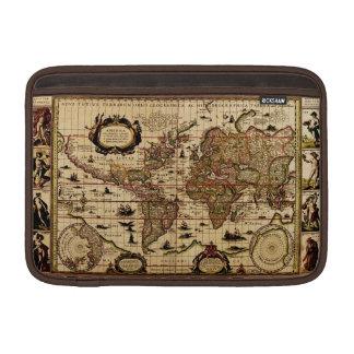 Rustic Old World Map Vintage Tablet Case Sleeve Sleeves For MacBook Air