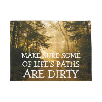 Rustic Outdoors | Camping Hiking Nature Doormat