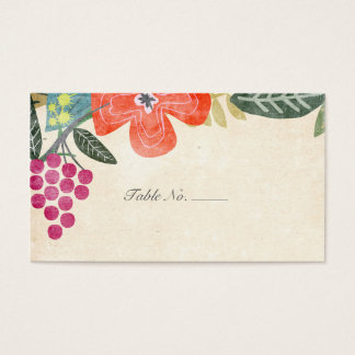Rustic Paradise | Guest Escort Cards