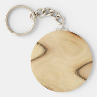 Rustic Patch Key Ring