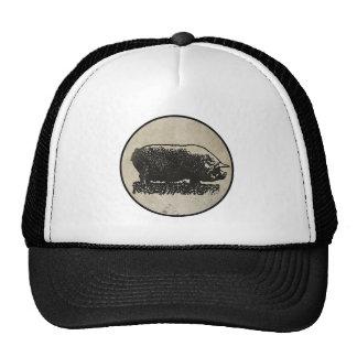 Rustic Pig Etching Cap